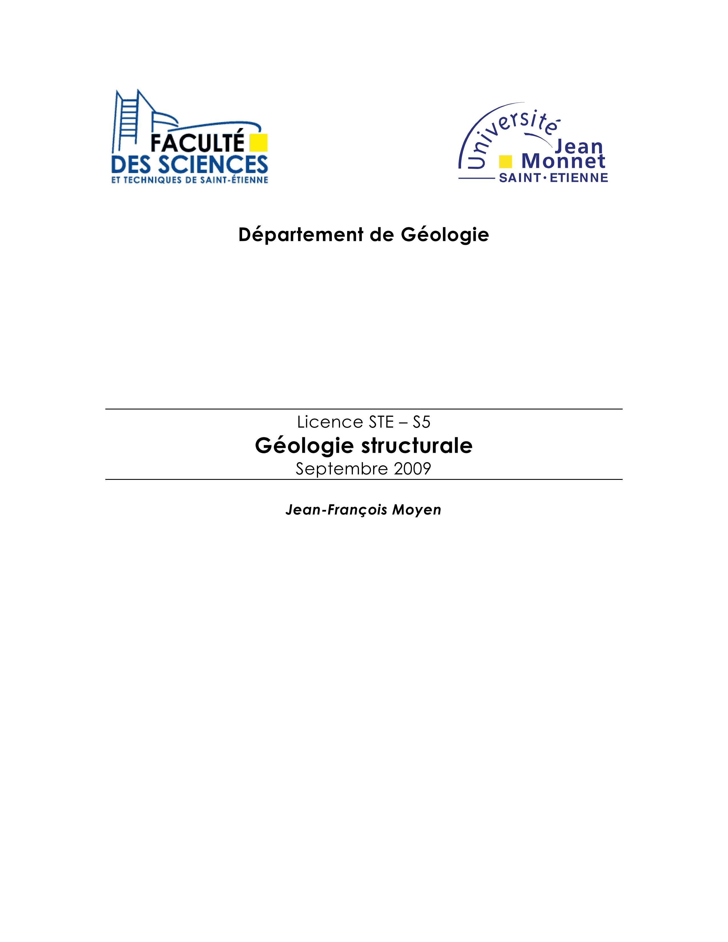 Cours structurale
