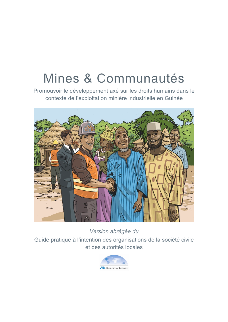 Guide aba roli guinea practical guide mining communities abridged 2015 french.authcheckdam